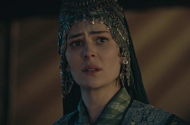 Malhun Hatun, Osman Bey'i uğurlamadı