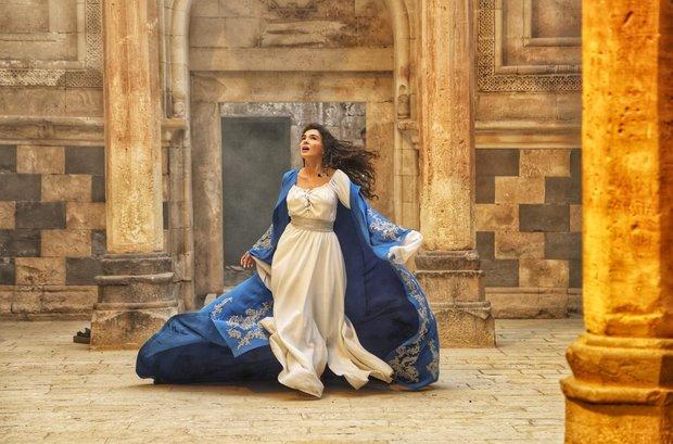 Hercai'nin yeni sezon tanıtımı İshak Paşa Sarayı'nda yapıldı