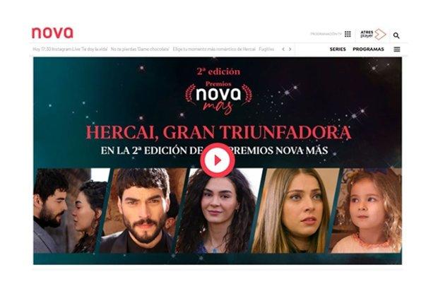 İspanya'dan Hercai'ye ödül yağmuru