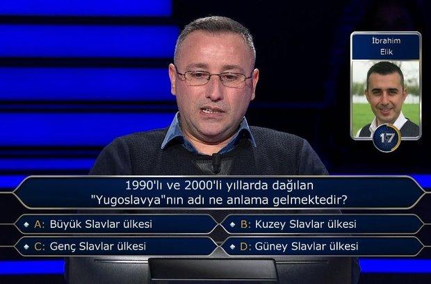 """1990'lı ve 2000'li yıllarda dağılan """"Yugoslavya""""nın adı ne anlama gelmektedir?"""